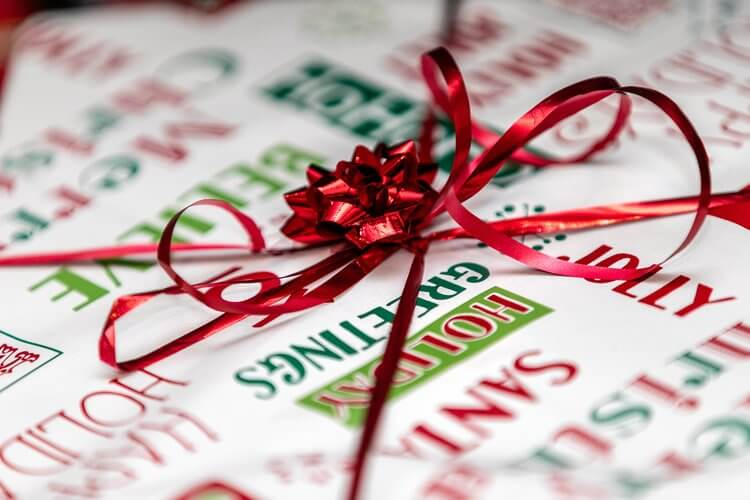 Wanneer kerstpakketten schenken